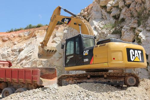 卡特彼勒320D系列2挖掘机