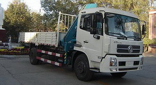 程力东风天锦随车起重运输车-DFL1160BX