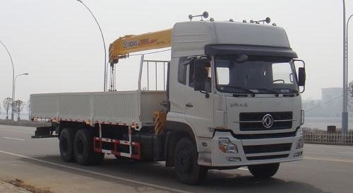 程力东风天龙后双桥随车起重运输车-DFL1250A9