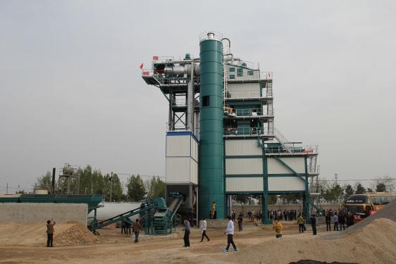 亚龙筑机SLB3000沥青混合料搅拌设备