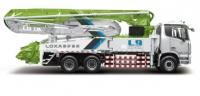 雷萨重机38米泵车