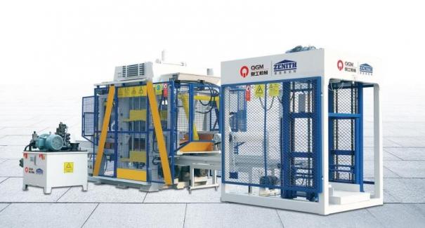 泉工QT6全自动砌块成型机