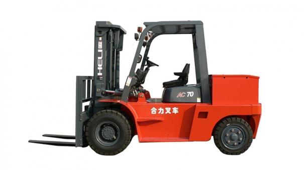 合力四支点 H系列6-7吨蓄电池平衡重式叉车