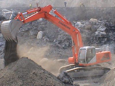 邦立CE460-5反铲液压挖掘机