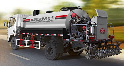 易山重工全智能型橡胶乳化喷洒设备/沥青洒布车