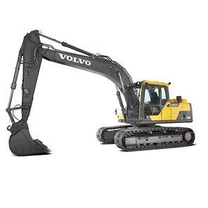 沃尔沃EC170DL履带式挖掘机
