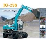 劲工JG-75s轮式挖掘机