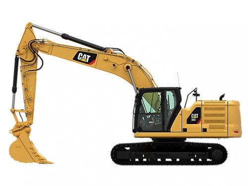 卡特彼勒323液压挖掘机