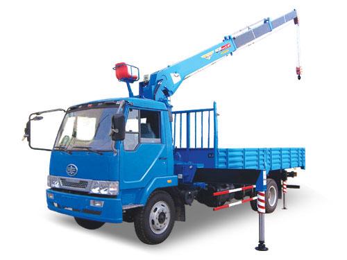 湖南飞涛SQ503 5吨直臂3节臂随车起重机