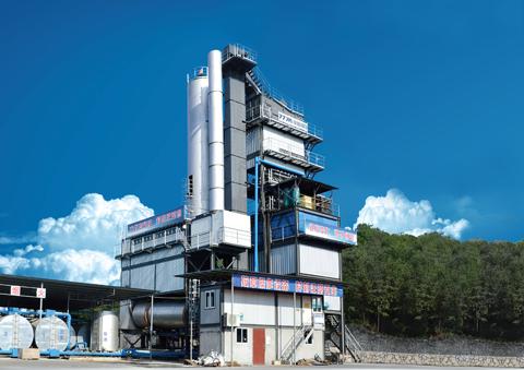 铁拓机械GLB-3000沥青混合料搅拌设备