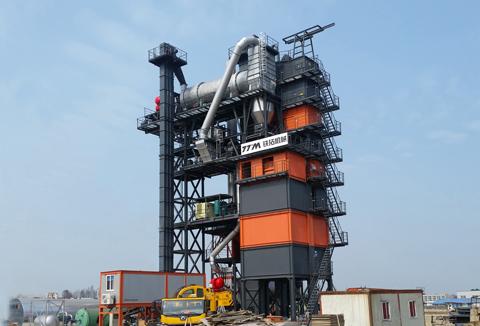 铁拓机械GLB4000沥青搅拌站(配套2000型再生)