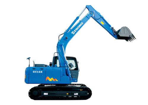山重建机GC138履带式挖掘机