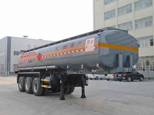 楚飞三轴易燃液体(25.8立方)罐式运输半挂车