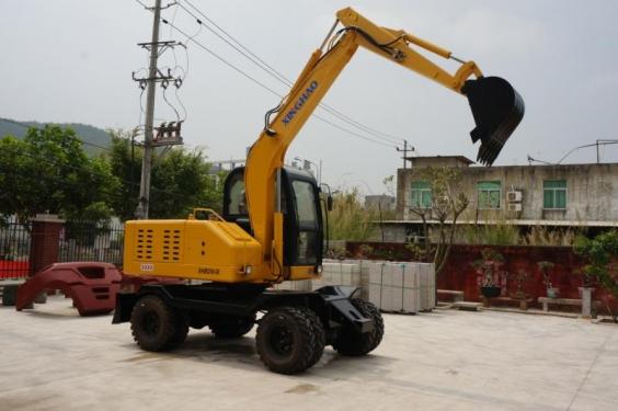 兴皓机械XH80W-8轮式挖掘机