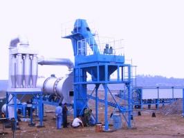 陆德DHB60简式沥青混凝土搅拌设备