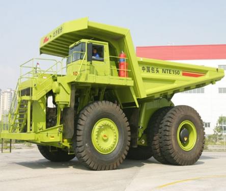 内蒙古北方股份NTE150电传动矿用自卸车