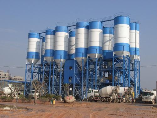 中建机械环保节能混凝土搅拌站 240m3混凝土搅拌站