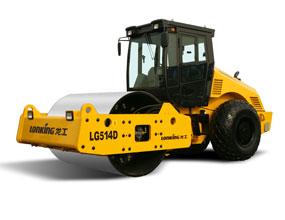 龙工LG514D全液压单钢轮振动压路机