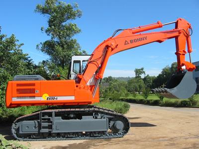 邦立CE650-6反铲液压挖掘机