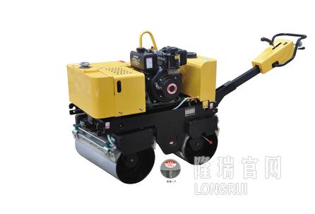 隆瑞机械LRY635SC手扶双钢轮振动压路机