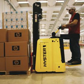 海斯特S1.5S-SL踏板式堆垛机