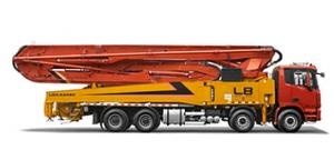 雷萨重机56米泵车