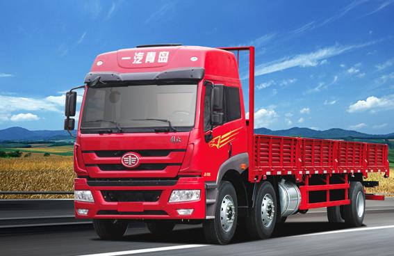 青岛解放新悍威 6×2载货车