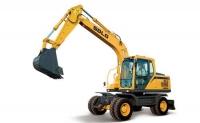 山东临工LGW6150E轮式挖掘机
