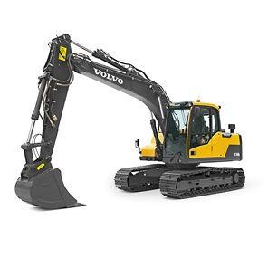 沃尔沃EC140DL履带式挖掘机
