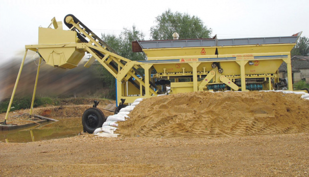 三隆重工YWCB200移动式稳定土厂拌设备
