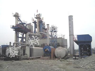 无锡泰特3000型热再生沥青搅拌设备