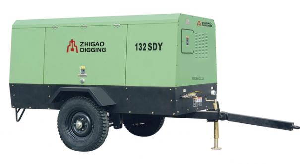 志高132SDY-8电驱移动式螺杆压缩机
