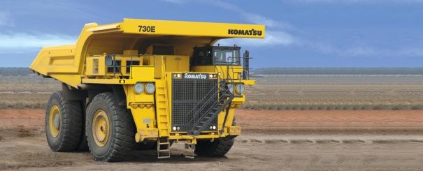 小松730E矿用卡车