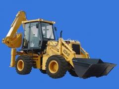 山猛WZ30-25型挖掘装载机