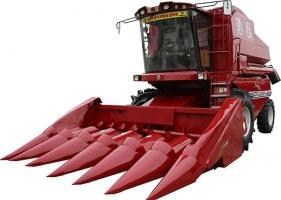 勇猛4LY-6(ZL2130)自走式玉米联合收获机
