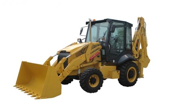 柳工CLG775A挖掘装载机