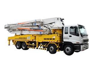 山推49m臂架泵车系列HJC5421THB-49/HJC5420THB-49/HJC5421THB-49泵车