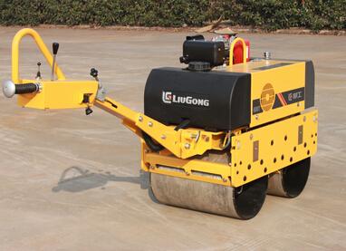 柳工CLG6007手扶双钢轮压路机