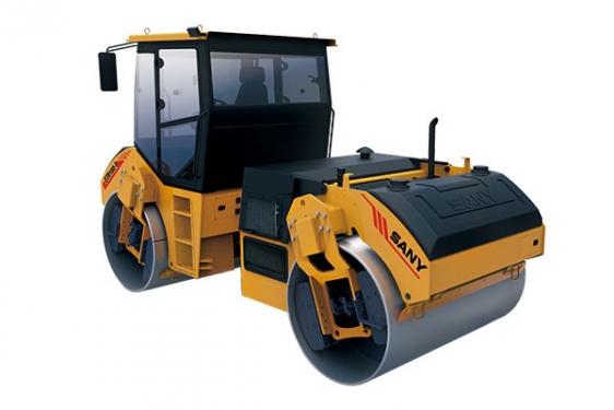 三一重工STR100-5H双钢轮压路机
