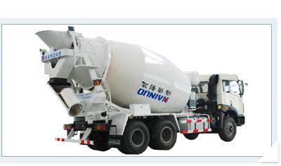 海诺HNJ5251GJBJ (9方)混凝土搅拌运输车
