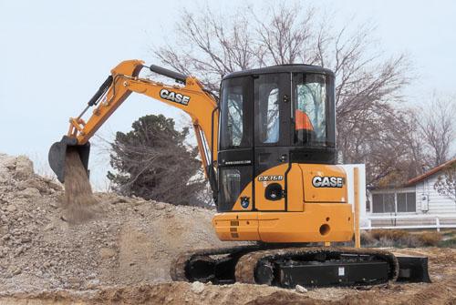 凯斯CX36B小型挖掘机