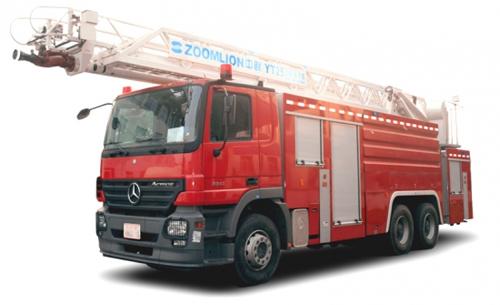 中联重科ZLJ5320JXFYT25型多功能云梯消防车