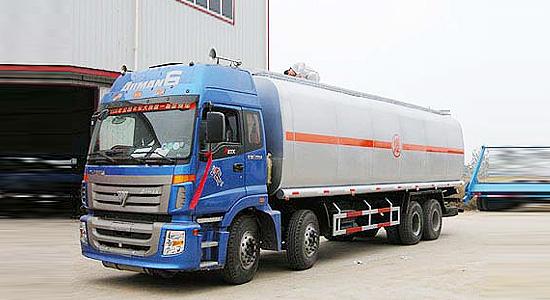 程力福田欧曼前四后八化工液体运输车-BJ5313VNCJJ-S