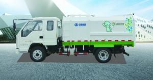 中通汽车ZTQ5040ZZZBJF30D(7方)侧装垃圾车