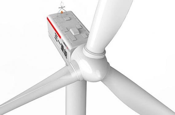 三一重工SE10015高速双馈型风力发电机组