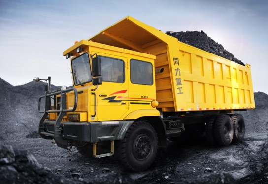 同力重工TL875M運煤車