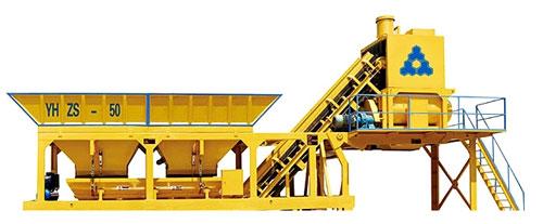 三联机械YHZS50混凝土搅拌站