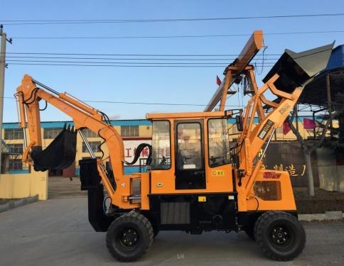 全工SZ40-16挖掘装载机