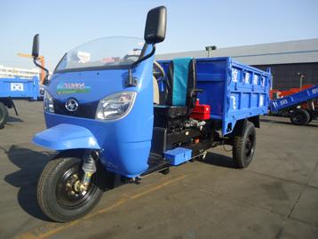 时风新高尔夫双座垃圾清理车三轮运输车