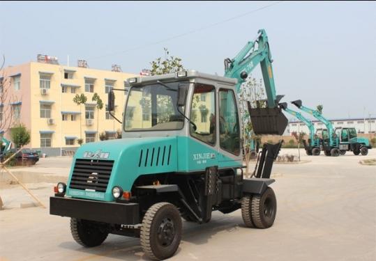 信杰WYL-70型轮式挖掘机